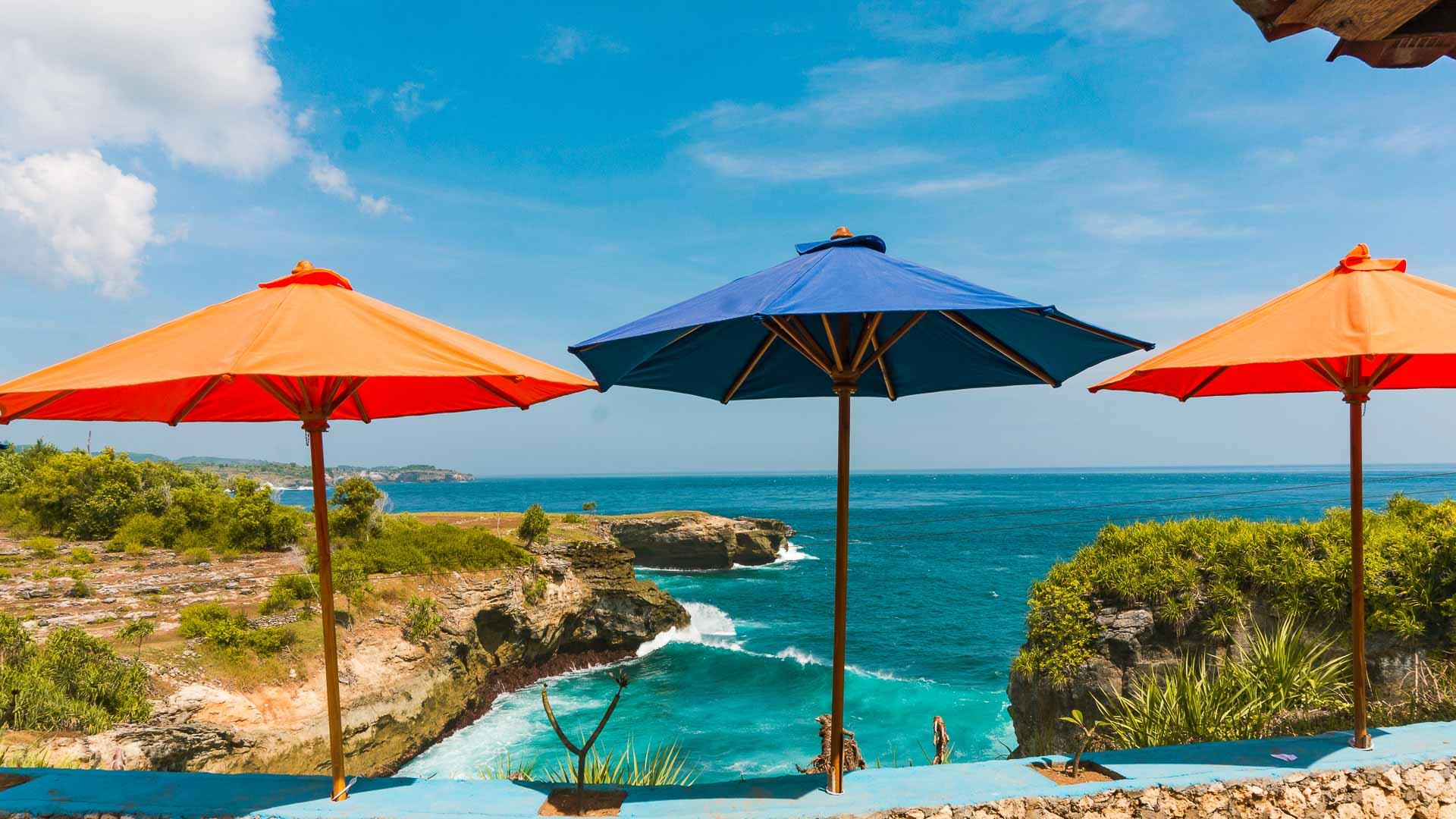 Nusa Lembongan And Nusa Ceningan View From An Infinity Pool