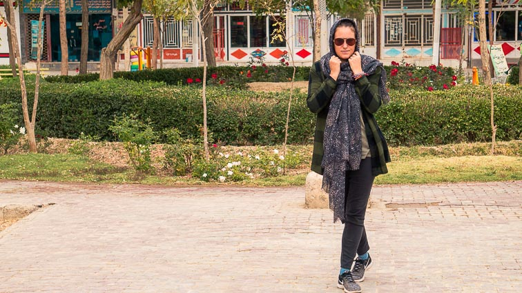 Backkpacking in Iran. What to wear as a woman
