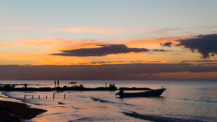 Sunset Isla Holbox, Mexico