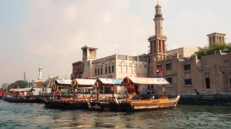 Water taxis in Dubai. How expensive is Dubai?