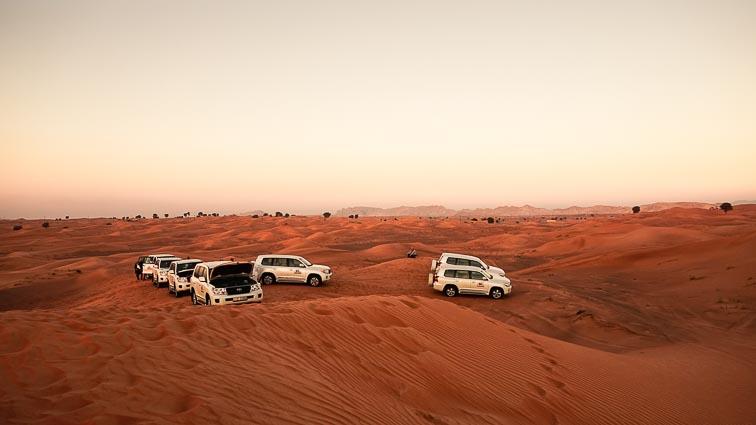 Dune bashing in Dubai. How expensive is Dubai?