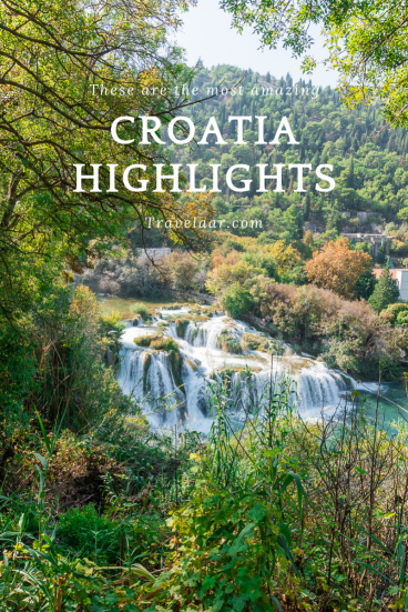 Things to do in Croatia. Pinterest