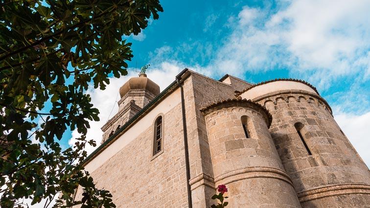 Cathedral in Krk, Croatia