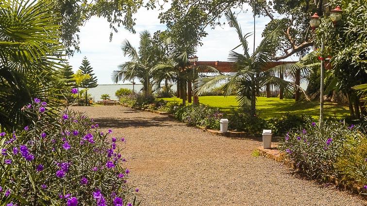 Monastery on Lake Tana