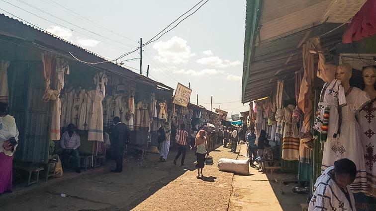 Streets of Gondar