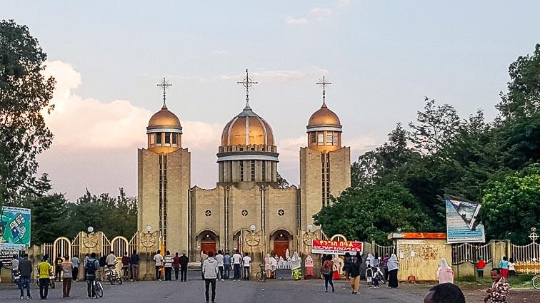 Church in Awassa, Ethiopia