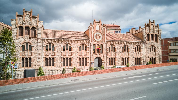 Gorgeous building in Mudéjar style