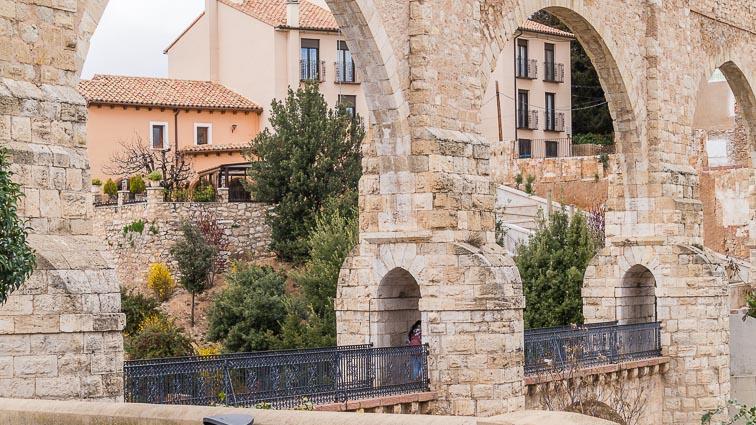 Acueducto de Teruel. Closeup