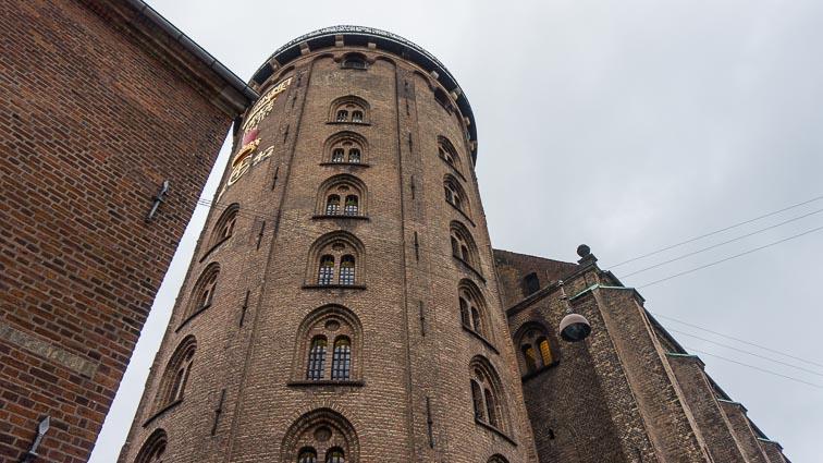 Rundetaarn or 'Round Tower' of Copenhagen