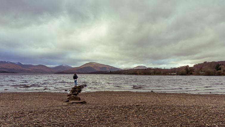 Erick near Loch Lomond