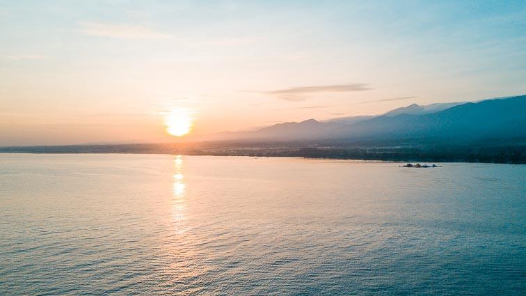 Sunset at Lovina