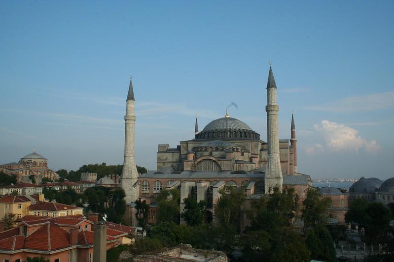 Haga Sophia in Istanbul