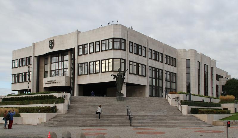 Slovakian parliament building