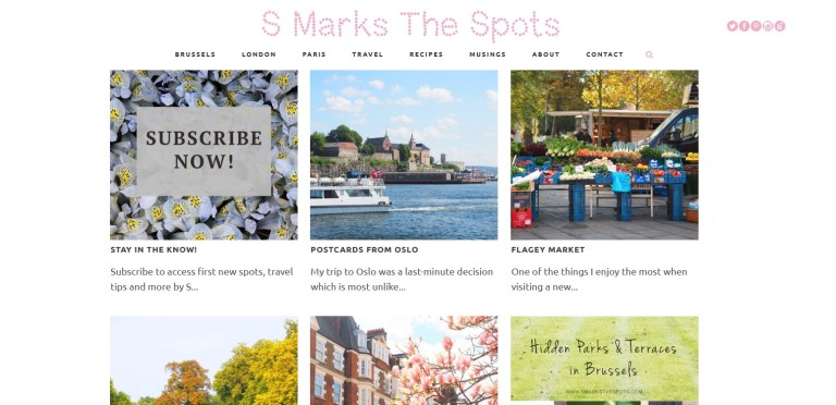 S Marks the Spots homepage
