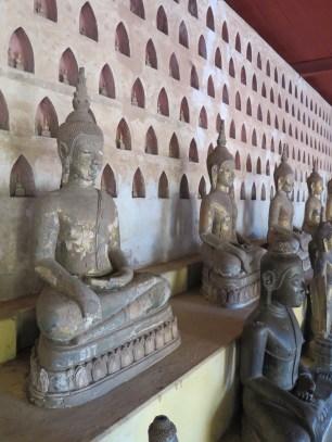 Alcove buddhas at Wat Si Saket