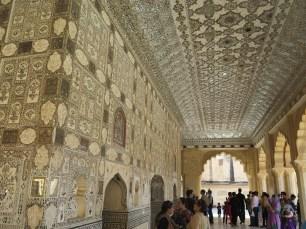 Mirrored hall