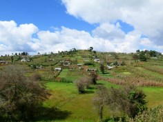 The walk to Chamula