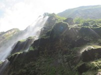Under the cascade