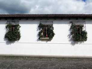 Typical Antigua windows