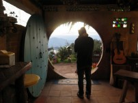 Inside the hobbit door