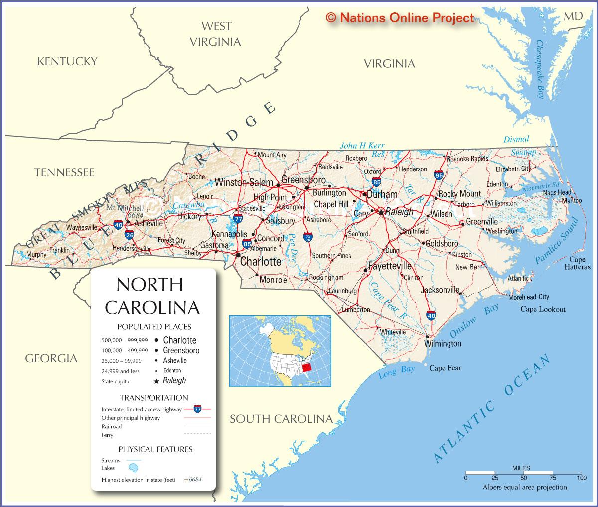 North Carolina Links