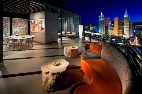 MGM Grand in Las Vegas announces completion of $160 million remodel of more than 4,200 rooms and suites. Seen here: Skyline Terrace Suite. (PRNewsFoto/MGM Grand)