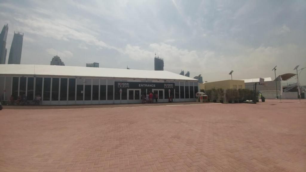 skydiving base, Dubai Marina, extreme sports