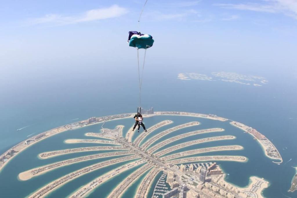 parachute, Palm Island, tandem skydive