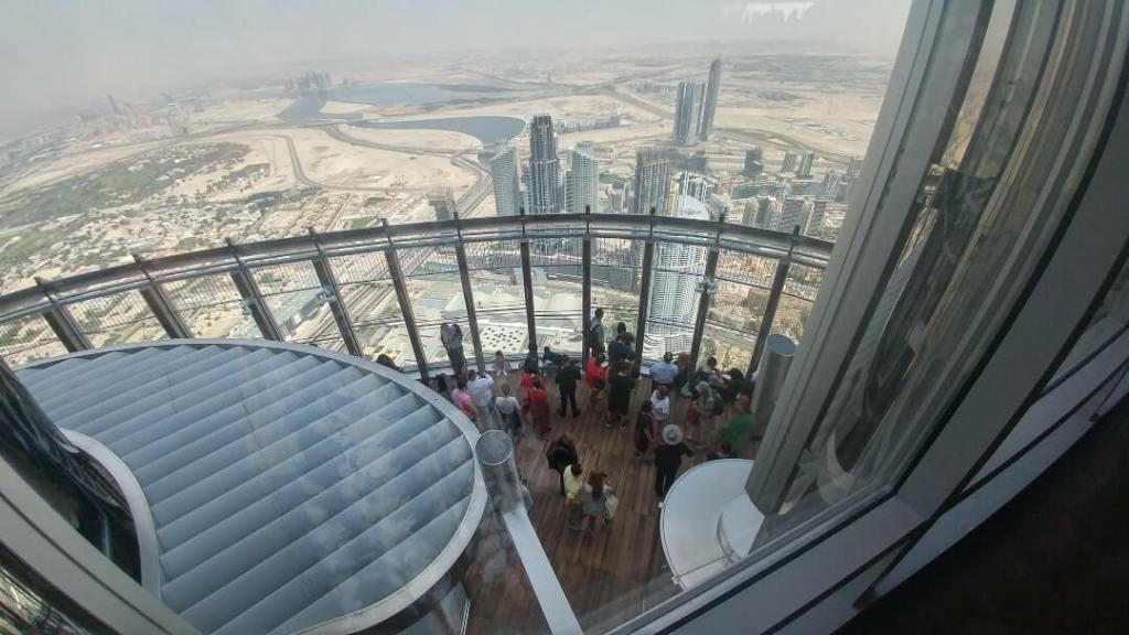 Observation deck, Dubai, Burj Khalifa
