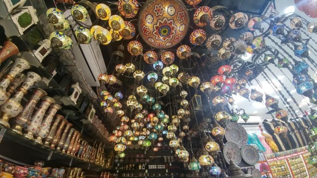 lamps, souks