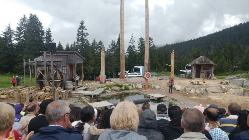 World-famous Lumberjack Show, Grouse Mountain