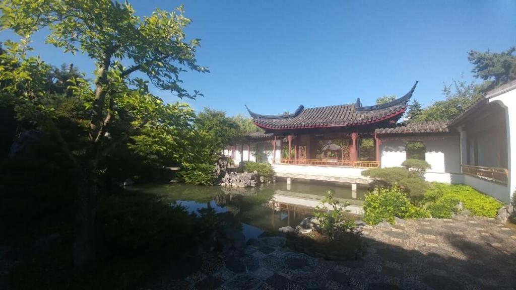 Chinese garden, attraction