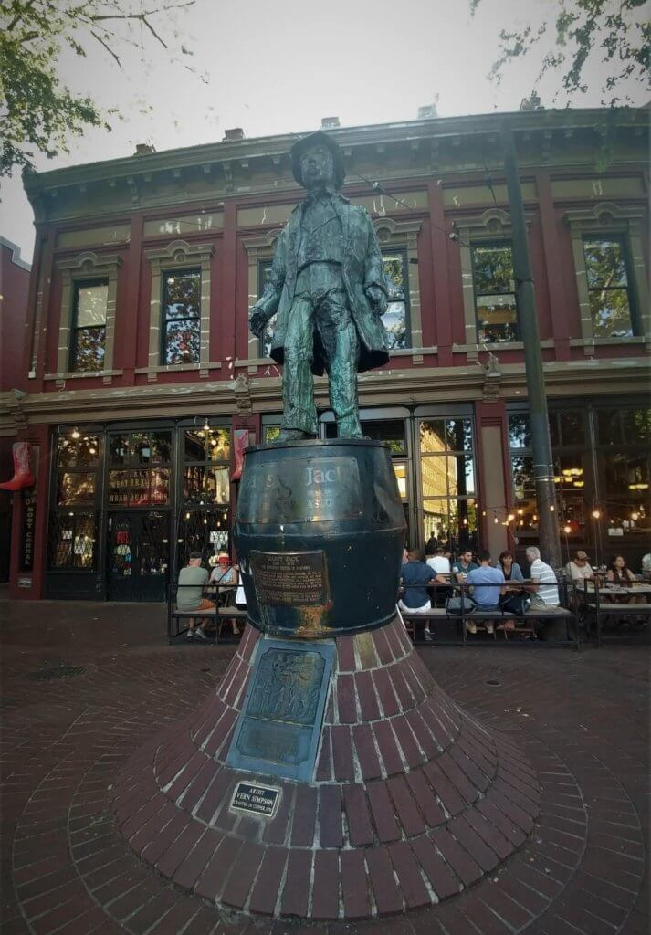 statue, Gassy Jack, Vancouver
