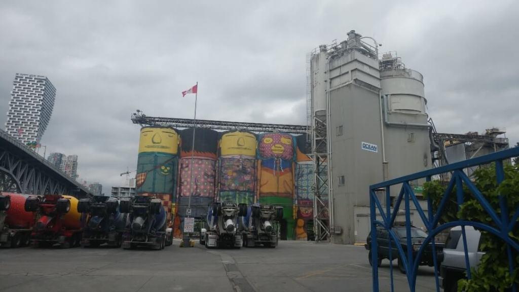 Giants Murals, Granville Island, Vancouver