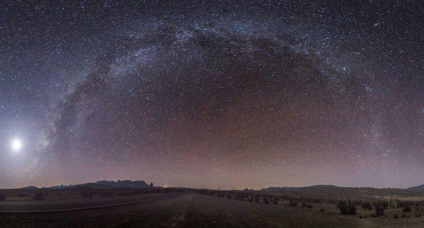 Starry skies at Big Bend National Park
