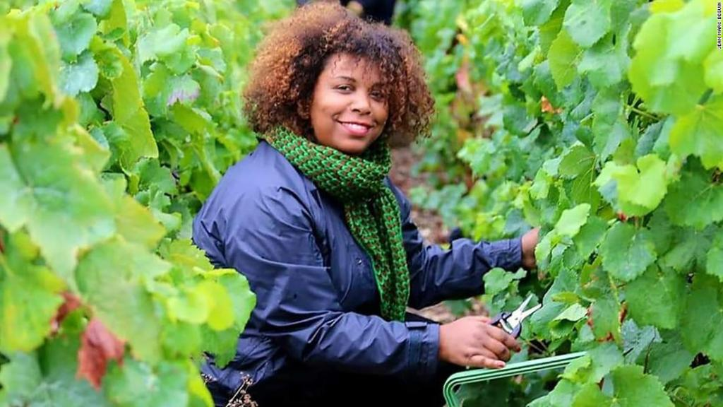 The woman bringing a Caribbean twist to French Champagne