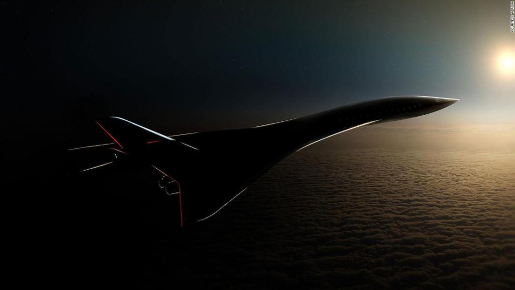 Supersonic airliner could fly LA to Tokyo in under three hours