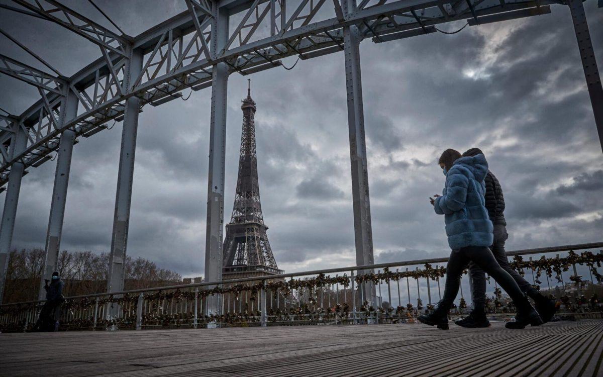Paris has re-entered a month-long lockdown