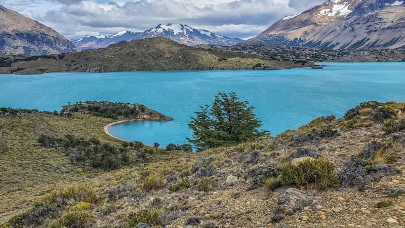 Perito Moreno National Park protects more than 313,400 acres.