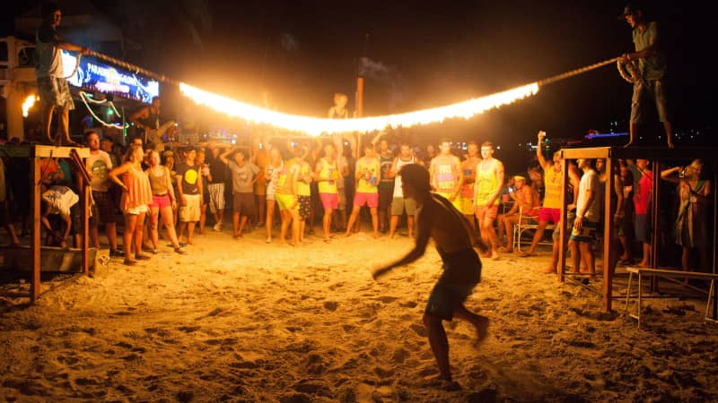 Koh Phangan's Full Moon Parties have been taking place since the 1980s.