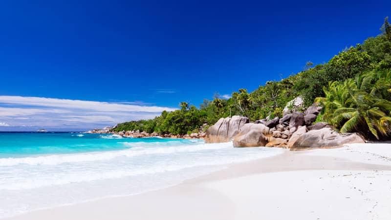 Seychelles, Anse Lazio Bay