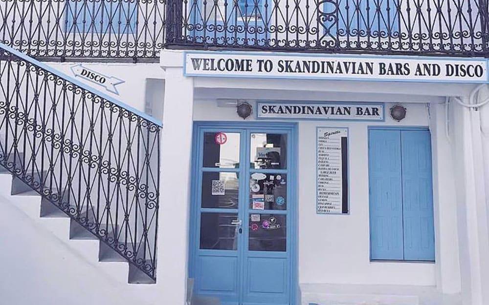 Skandinavian Bar, Mykonos