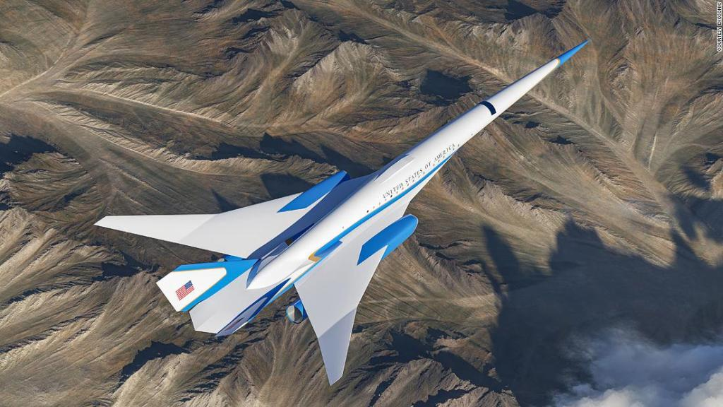 Exclusive look inside the US supersonic presidential jet