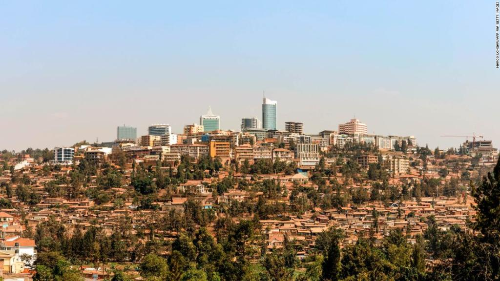 The gleaming city that emerged from turmoil in the heart of Africa