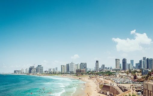 Beaches are open in Tel Aviv, with no mask requirement