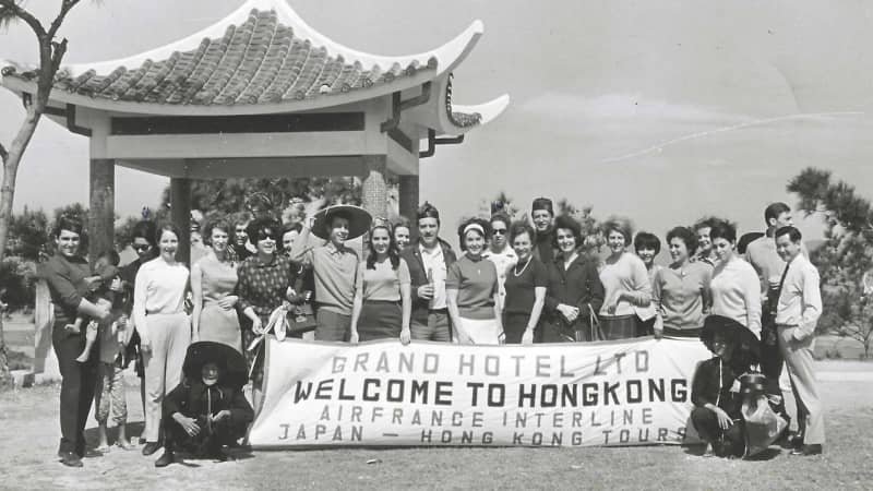Eddie Fong worked as a travel advisor at a local hotel in the 1960s.