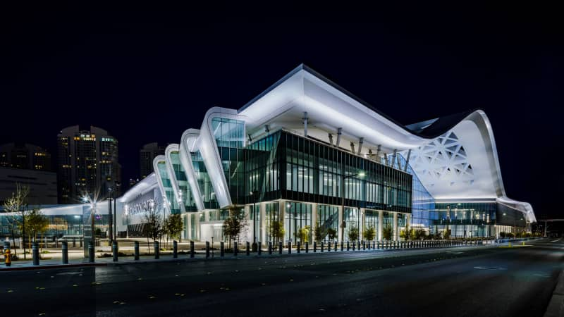 The new West Hall vastly expands the Las Vegas Convention Center.