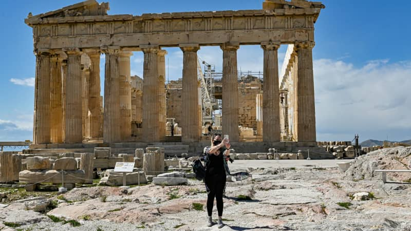 Greece is opening up to vaccinated or negative-testing tourists.