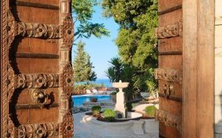 Purple Apricot Hotel, Paxos, Greece
