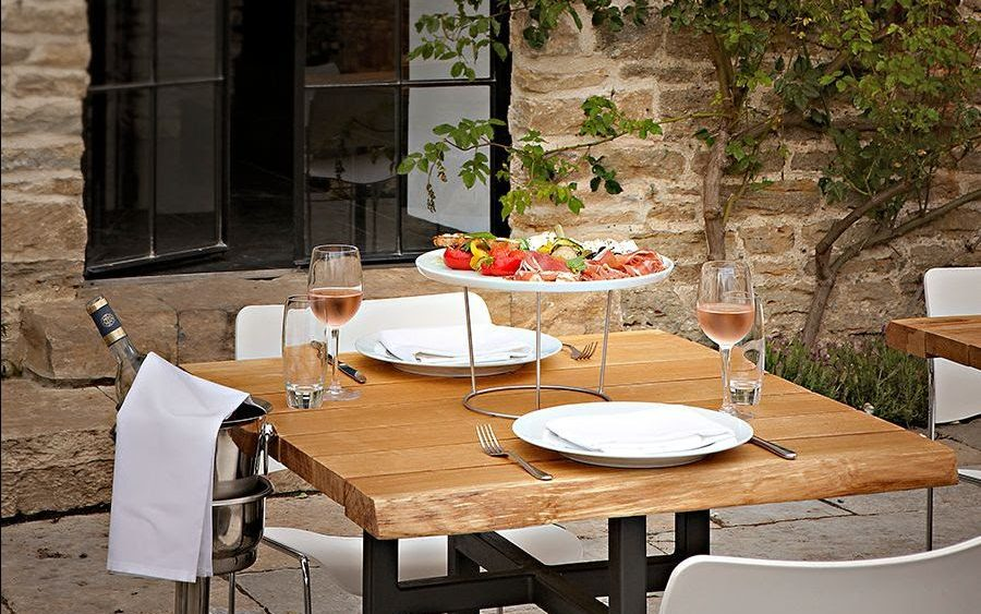 Table on At the Chapel's terrace